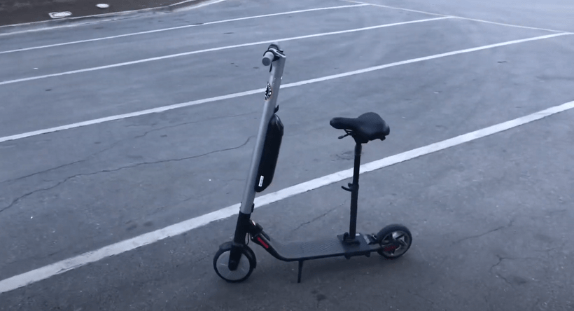 Segway Ninebot ES3 with Adjustable Seat Attached
