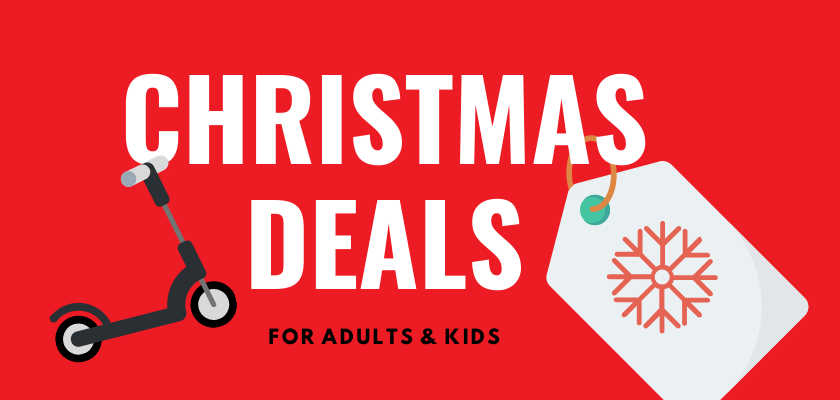 Christmas electric scooter deals