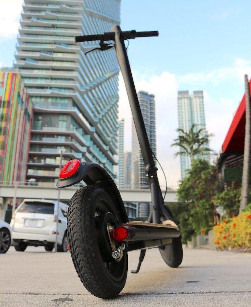 Cityrider Rear Wheel and Urban Commute