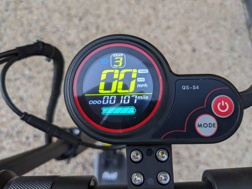 Horizon Handlebar Display