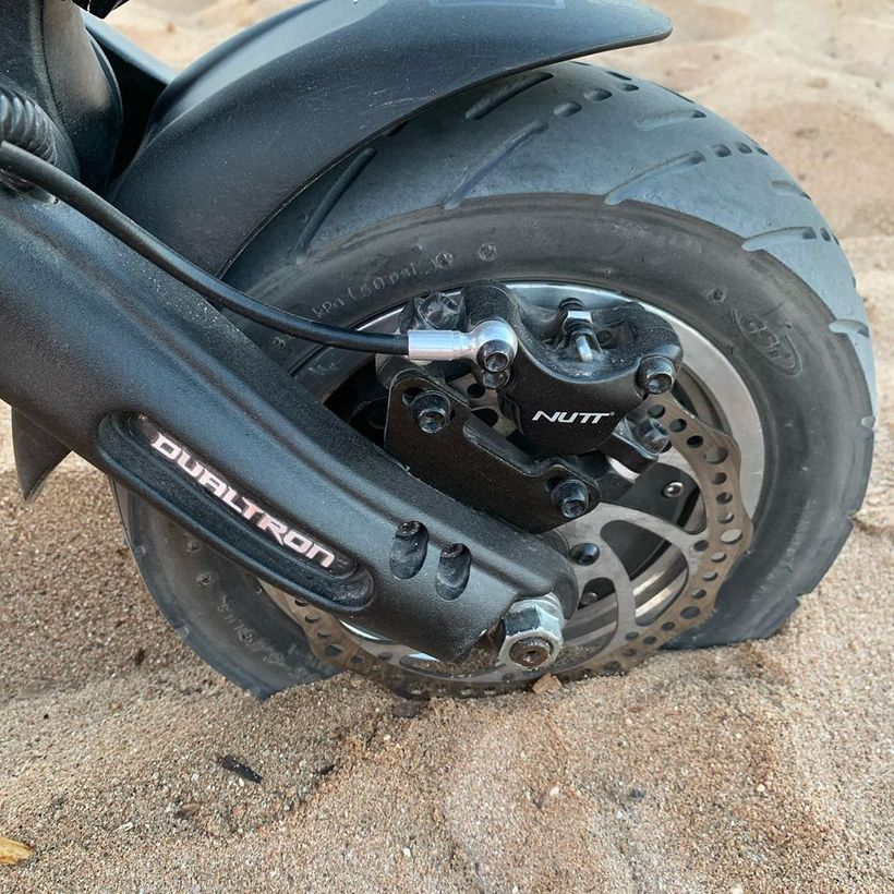 Dualtron Thunder Tire and Brake