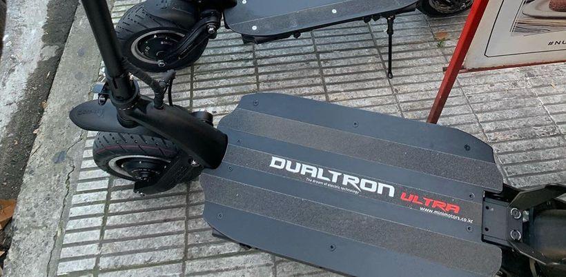 Dualtron Ultra V2 Large Reinforced Foot Deck
