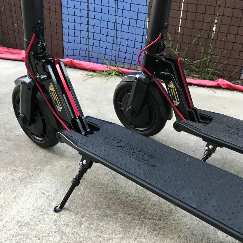 GoTrax GXL V2 Foot Deck and Stand