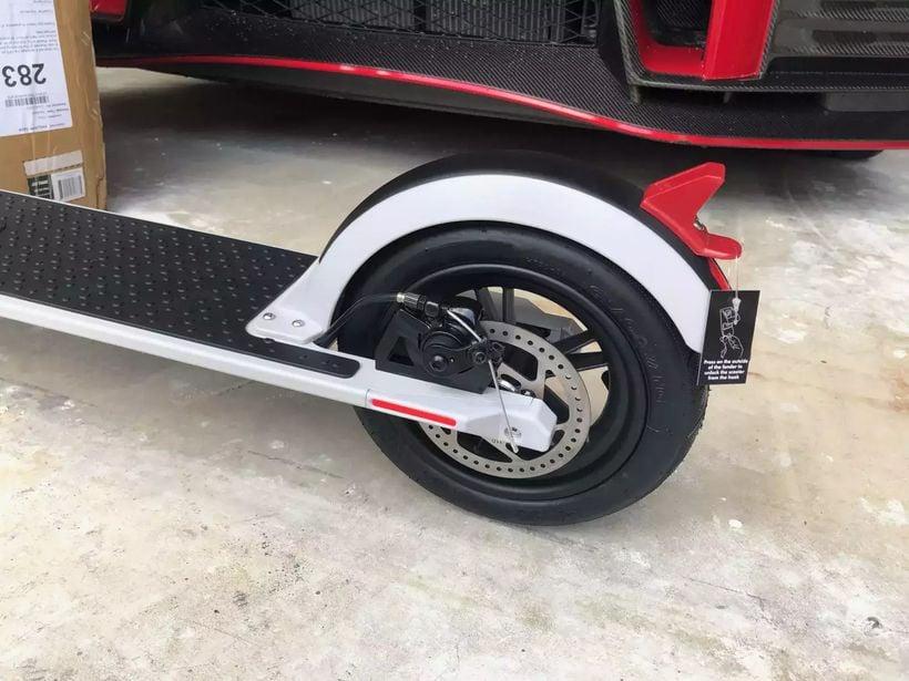GoTrax XR Ultra Rear Disc Braking System