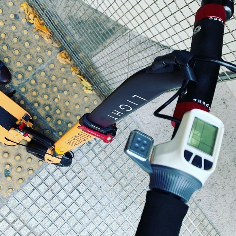 INOKIM Light 2 Handlebar Post and Throttle