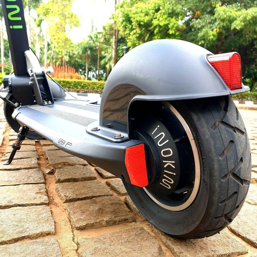 INOKIM Quick 3 Rear Wheel and LED Light Built into Fender