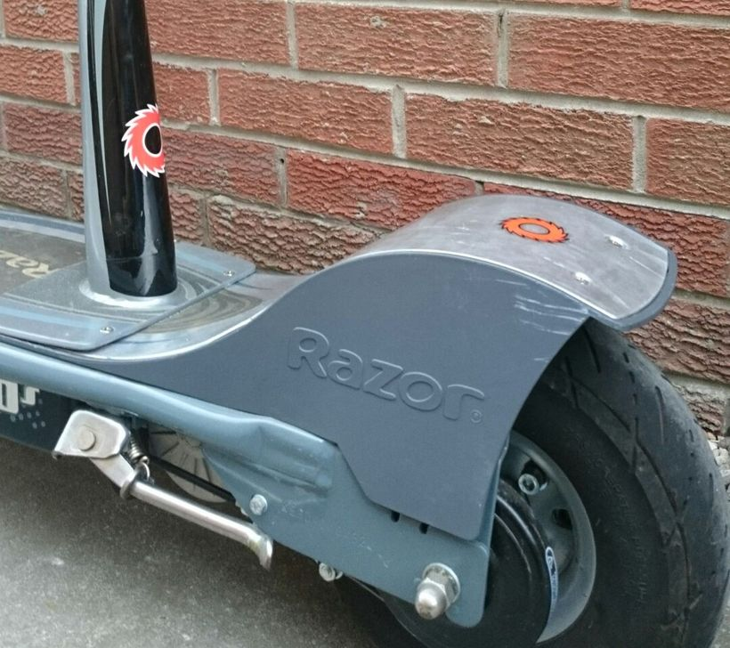 Razor E300S Rear Wheel Fender