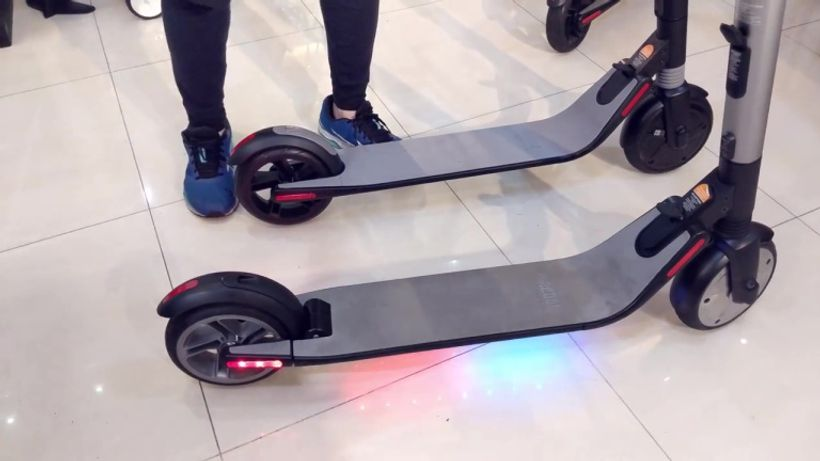 Segway Ninebot ES1 Footdeck Lights