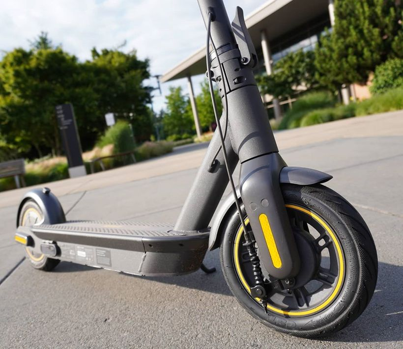 Segway Ninebot Max Sturdy Frame and Deck