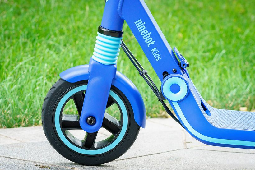 Segway Zing E8 Front Tire and Shock Absorber
