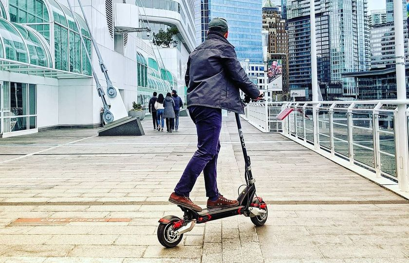 25 MPH Electric Scooter