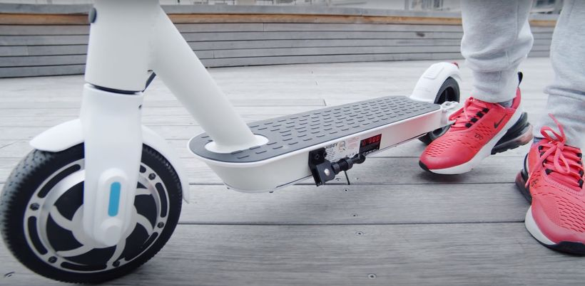 Hiboy S2 Lite Front Tire and Deck