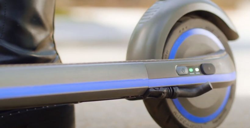 Ninebot Zing E10 Button to Change Riding Mode