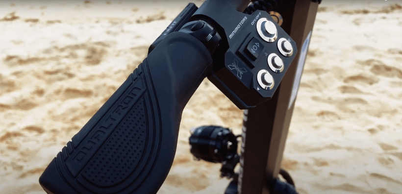 Dualtron X 2 Handgrip and Scooter Controls