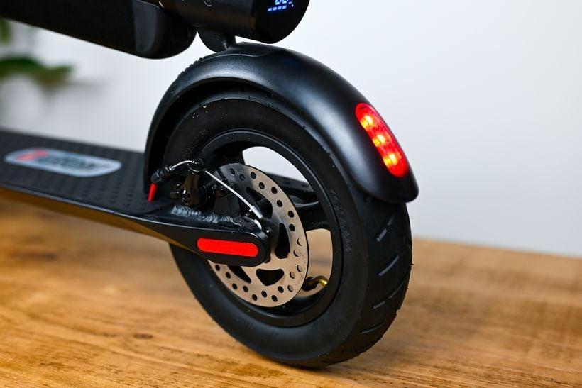 Turboant X7 Pro Rear Wheel Fender and Disc Brake