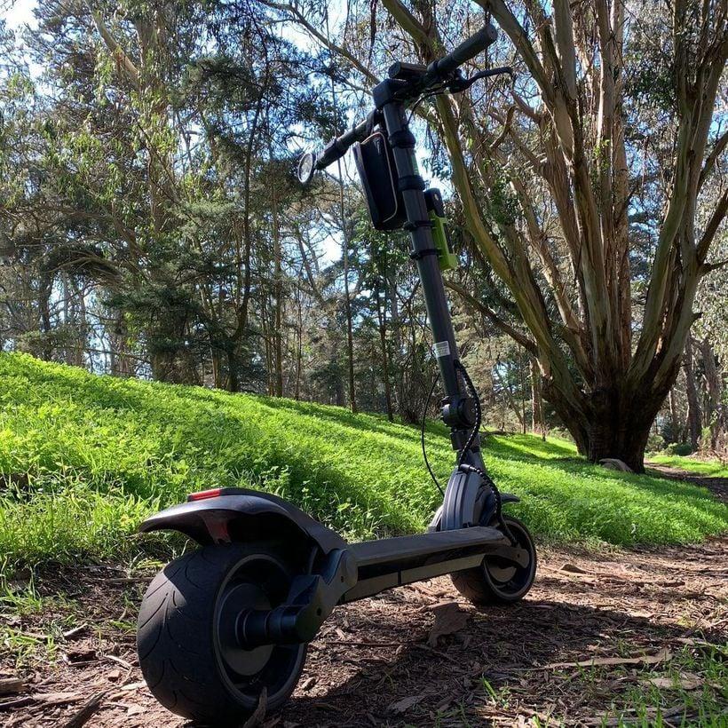 Widewheel Pro on Dirt Track