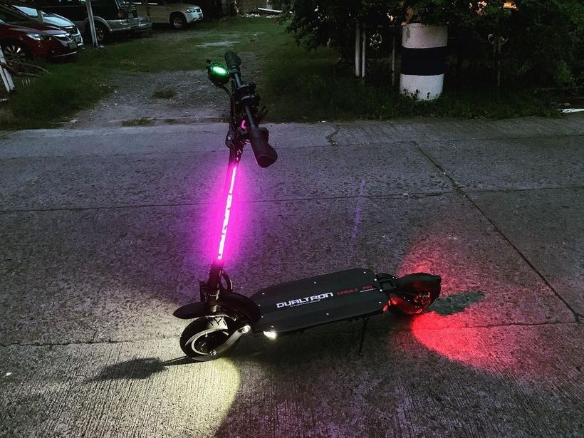 Dualtron Eagle Pro Light Setup