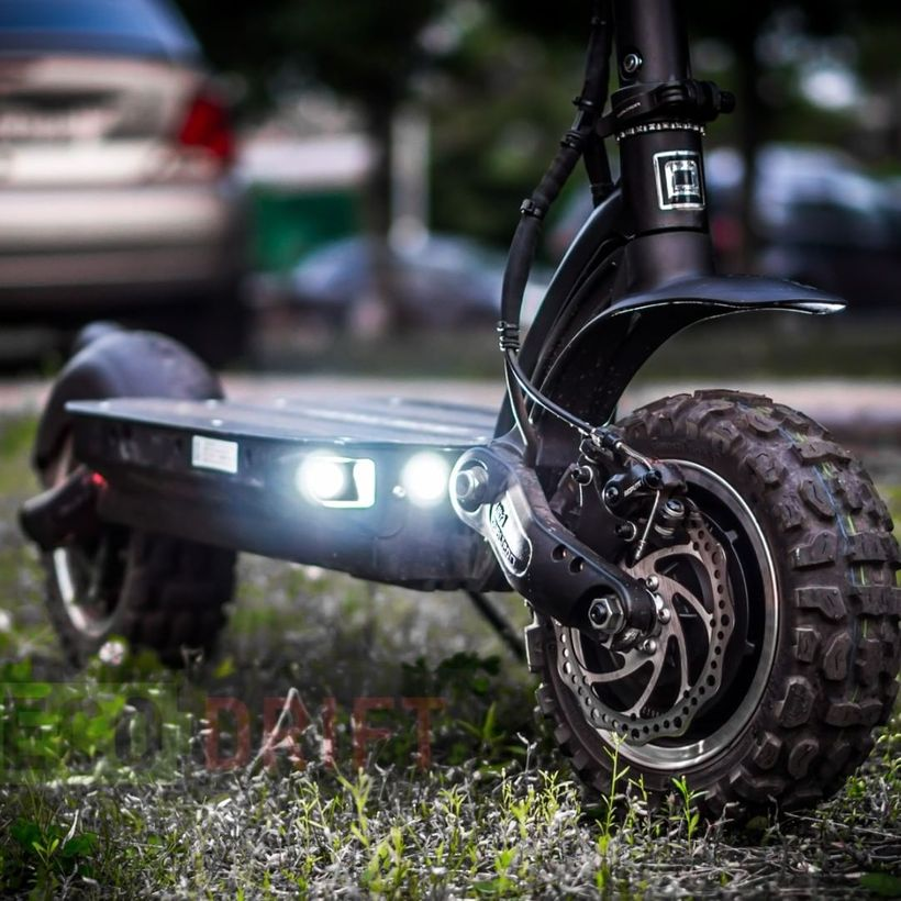 Dualtron Ultra Front Disc Brake and LED Lights