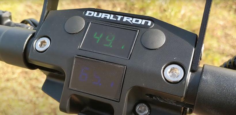 Dualtron X Battery Voltmeter