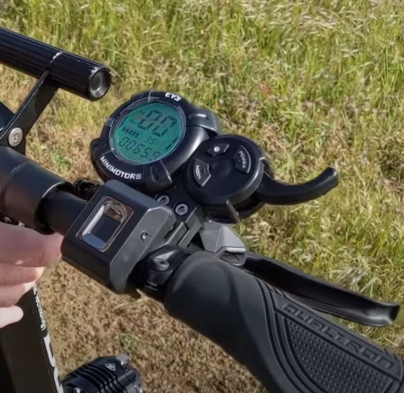 Dualtron X EYE Display and Throttle