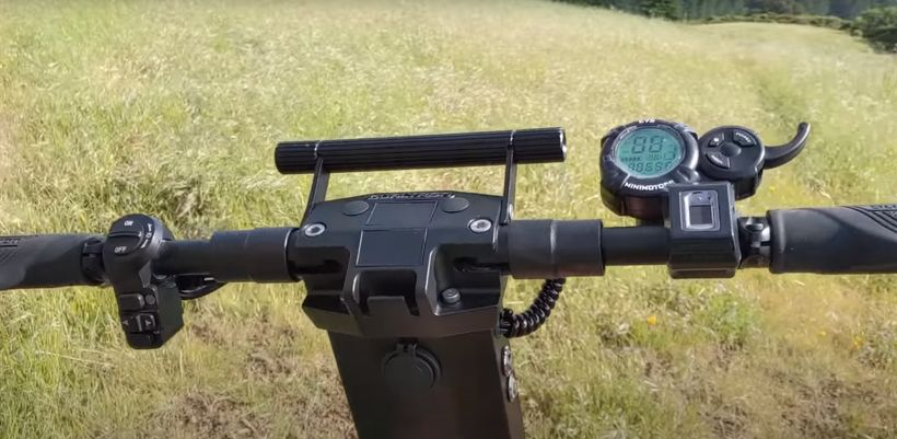 Dualtron X Handlebars From Rider's Point of View