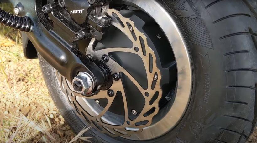 Dualtron X Powerful Hydraulic Disc Brakes