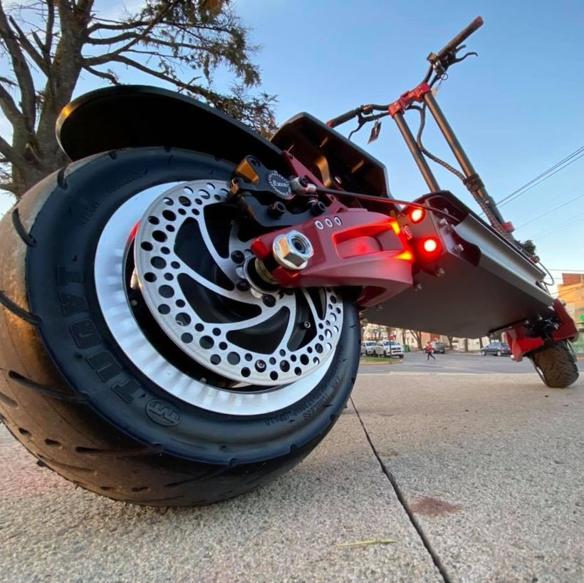 Zero 11X Hydraulic Brakes