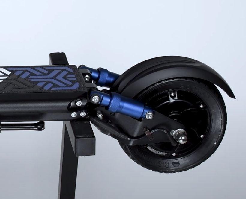 Apollo Light Rear Hydraulic Shocks and Tire