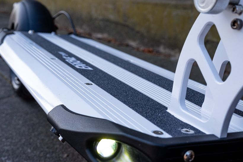Close Up of EMOVE Cruiser Deck