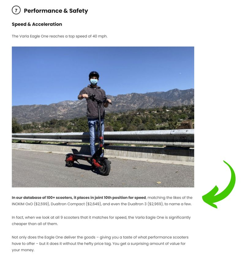 Example of Scooter Database Insights