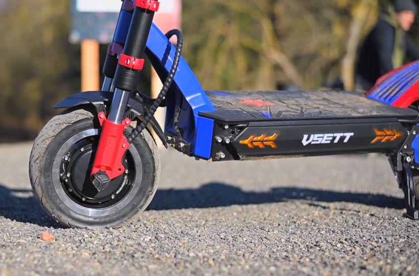 VSETT 11 Side Profile of Durable Frame