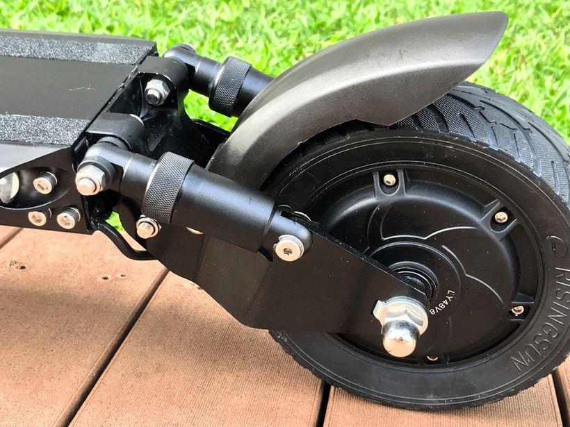 Zero 8 Rear Hydraulic Suspension