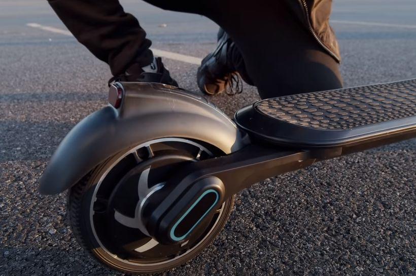 Hiboy NEX Rear Wheel and Foot Brake