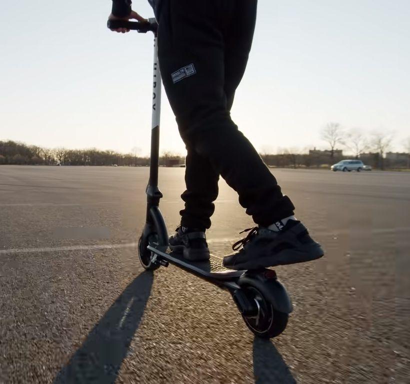 Riding the Hiboy NEX