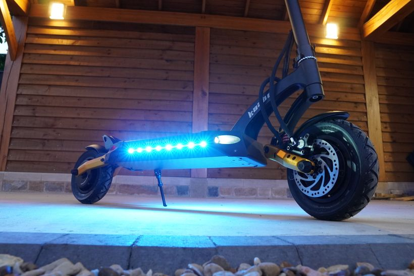 Mantis Pro SE Bright Blue Deck Lights