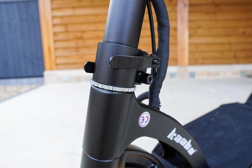 Mantis Pro SE Front of Locking Ring