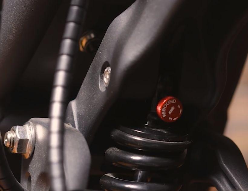 NAMI Burn-e Adjustable KKE Suspension