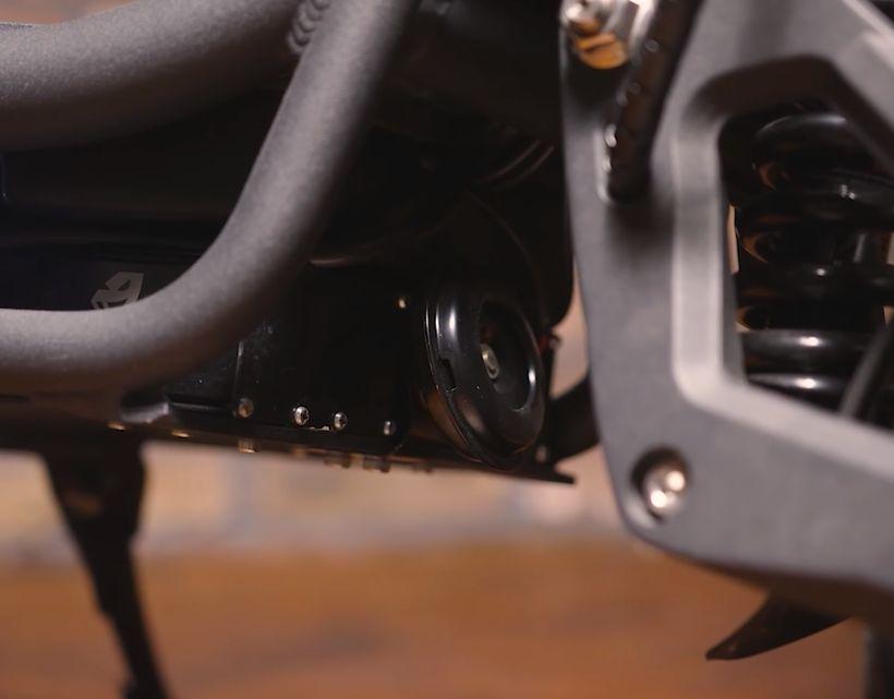NAMI Burn-e Motorcycle Grade Horn
