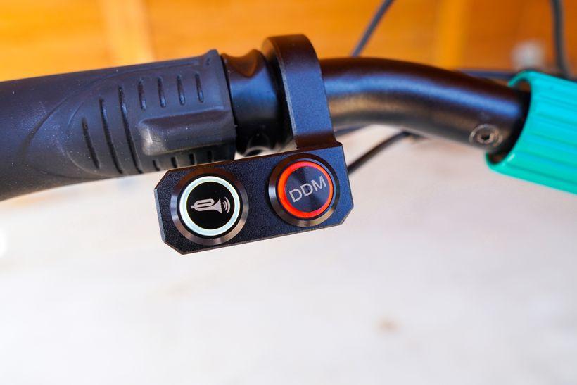 VSETT 9+ Horn and DDM Buttons