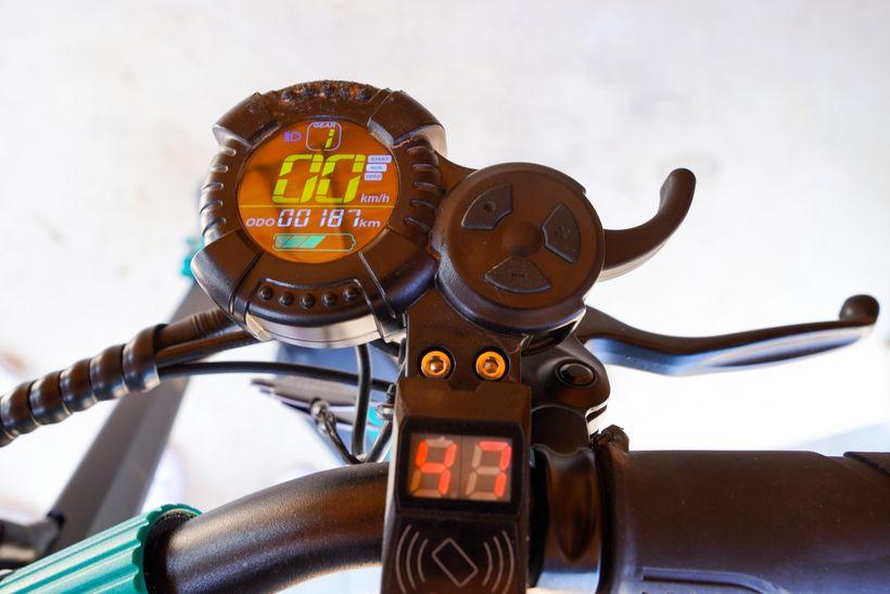 VSETT 9+ QS-S4 Display and Throttle