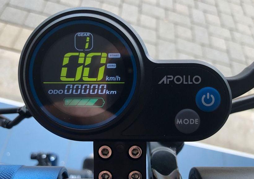 Apollo City QS-S4 Display