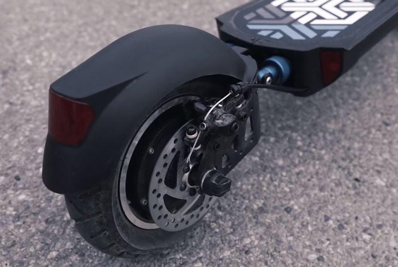 Apollo Explore Rear Wheel and Disc Brake