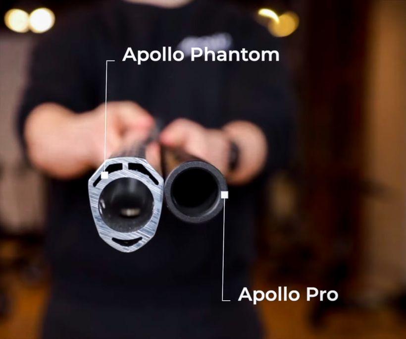 Apollo Phantom Double Reinforced Stem