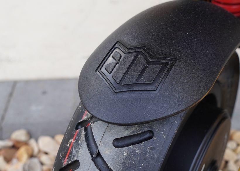 Close up of Mantis Rear Fender
