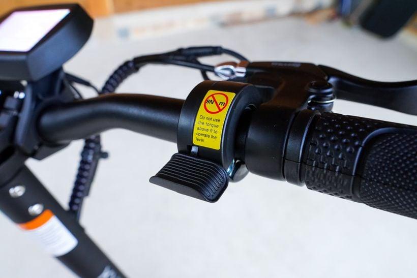 Kugoo G2 Pro Thumb Throttle