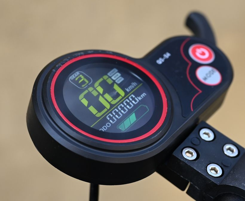 Mants QS-S4 Display and Throttle