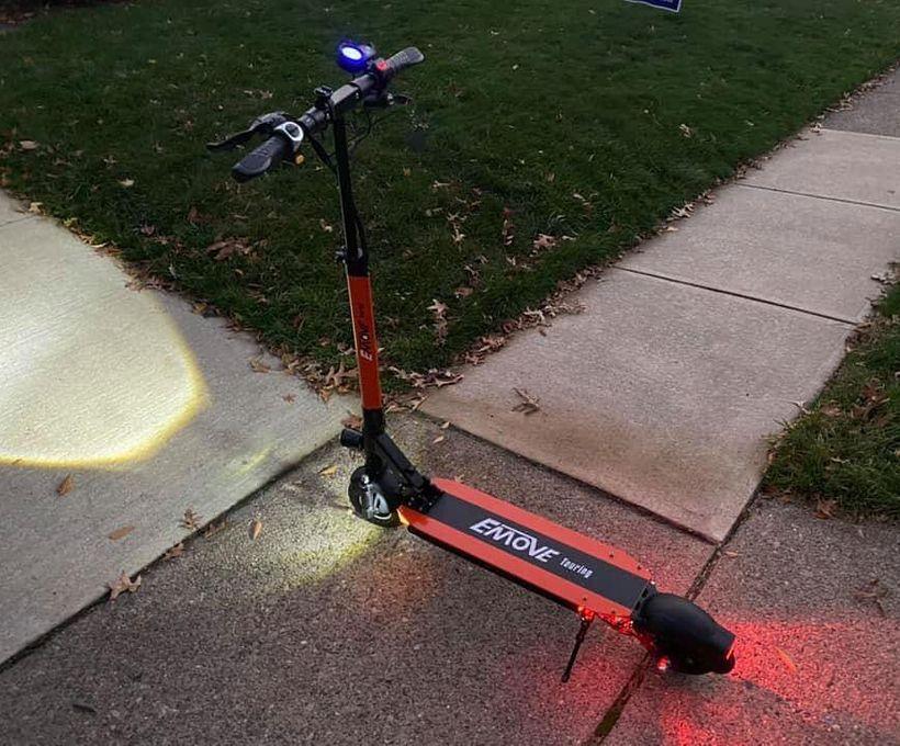 EMOVE Touring LED Lights at Night