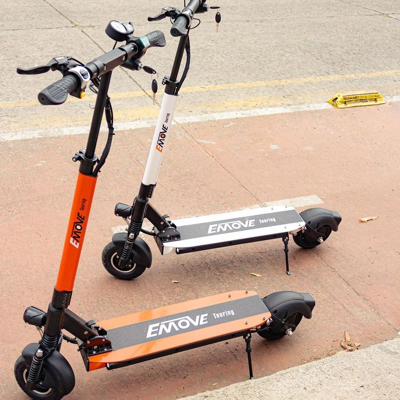 Multiple Color Versions of the EMOVE Touring